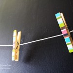 How To Make Fabric Covered Clothespins Tutorial