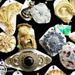 Russ and Barb's Antiques in Chesterton, Indiana Vintage Brooches