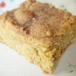 Snickerdoodle Cookie Bars Recipe