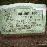 William Bush Headstone at Willow Grove Cemetery: Fountain City, Indiana