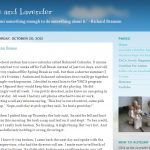 Indiana Blogs: Hope and Lavendar