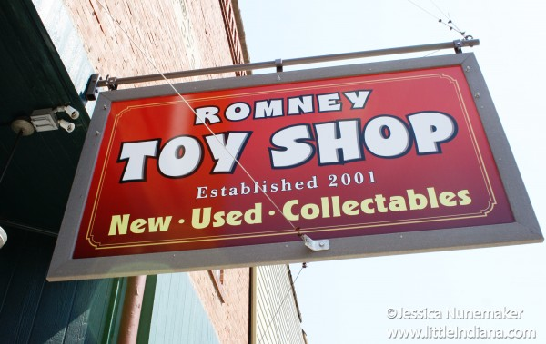 Romney Toy Store in Romney, Indiana