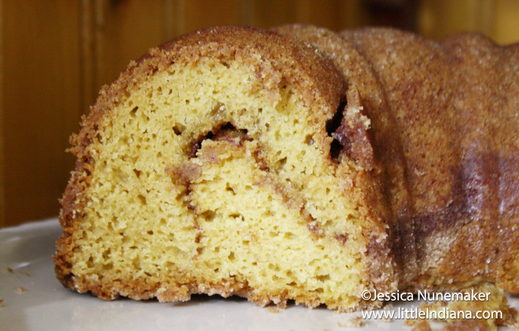 Snickerdoodle Bundt Cake Recipe