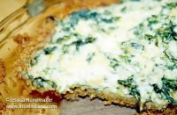 Spinach Parmesan Pie Recipe