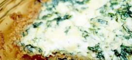 Spinach Parmesan Pie Recipe