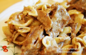 Stovetop Beef Stroganoff Recipe