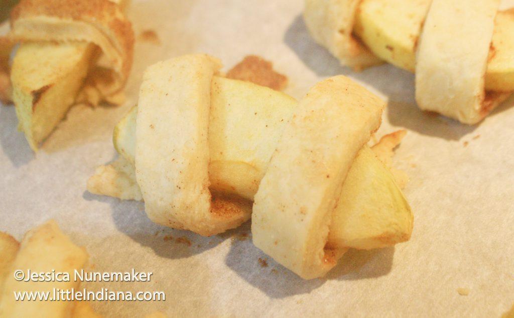 Handheld Apple Pie Bites Recipe
