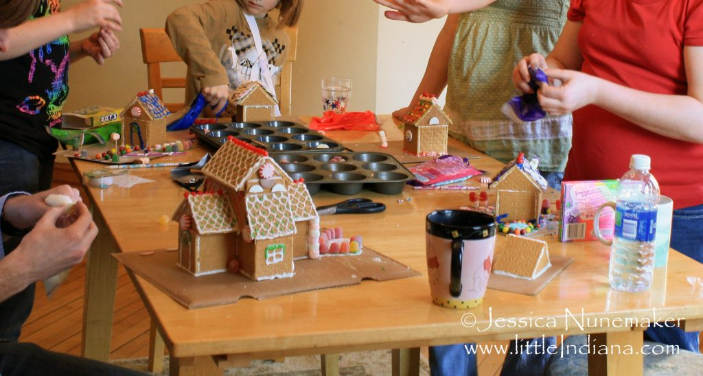 A Very Hoosier Holiday: Graham Cracker House Glue or Royal Icing Recipe