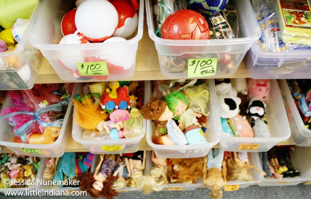 Romney Toy Store in Romney, Indiana