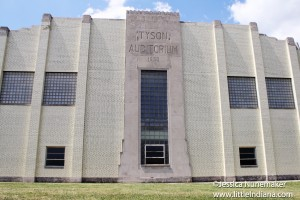 Tyson Auditorium in Versailles, Indiana