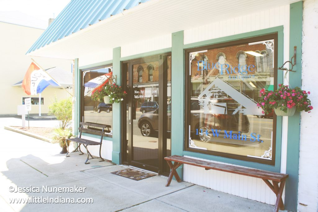 Blue Ridge Antiques in Cambridge City, Indiana