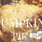 Ginger Streusel Pumpkin Pie Recipe