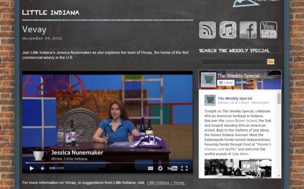 Jessica Nunemaker on PBS The Weekly Special Vevay Segment