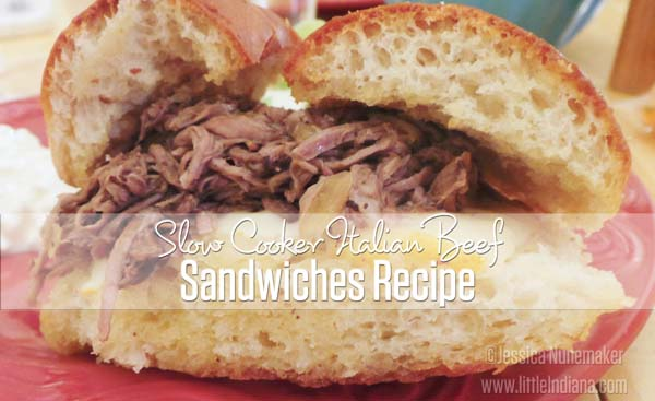 Slow Cooker Italian Beef Sandwiches Recipe