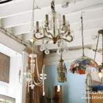 White River Architectural Salvage and Antiques in Centerville, Indiana Period Light Fixtures