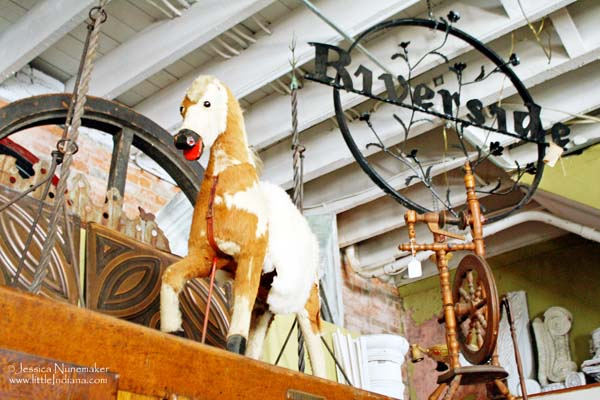 White River Architectural Salvage and Antiques in Centerville, Indiana Vintage Items