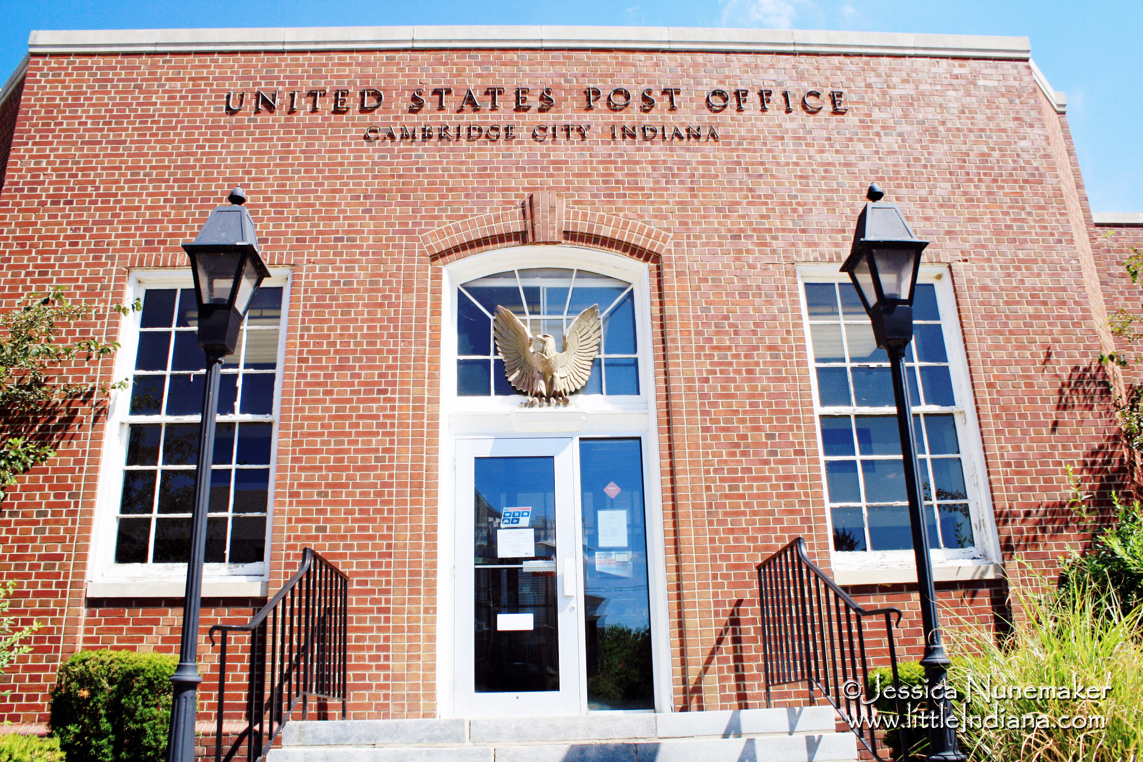 Cambridge City, Indiana Post Office New Deal WPA Art