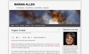 Indiana Blogs: Marian Allen
