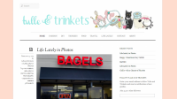 Indiana Blogs: Tulle and Trinkets