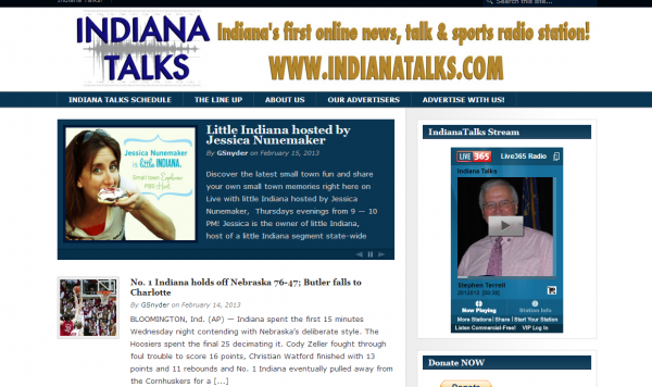 Indiana Talks little Indiana Launch
