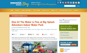 Visit Indiana: little Indiana and Big Splash Adventure
