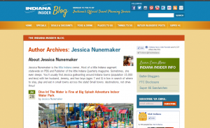 Visit Indiana Jessica Nunemaker Author Page