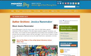 Visit Indiana Jessica Nunemaker Author Page