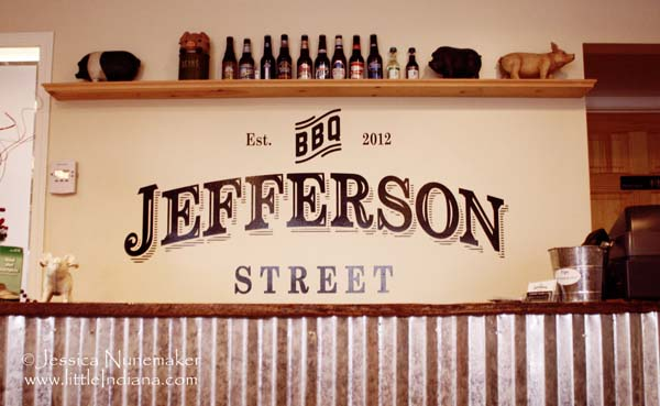Jefferson Street Barbecue in Converse, Indiana Interior