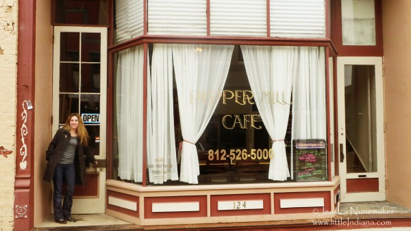 Peppermill Cafe in Edinburgh, Indiana
