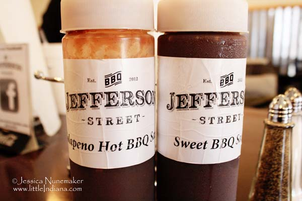 Jefferson Street Barbecue in Converse, Indiana Barbecue Sauce