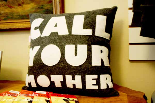 Ella's Bella in Chesterton, Indiana Call Your Mother Decorative Pillow