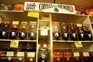 The Daily Grind Coffee Shop in Nashville, Indiana