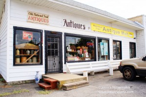 National Trail Antique Mall in Dunreith, Indiana