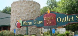 Warm Glow Candle Company Outlet in Centerville, Indiana Exterior