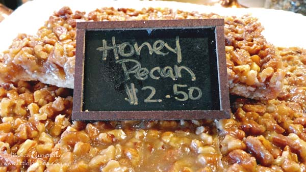 The Beehive in Danville, Indiana Honey Pecan Bars