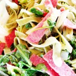 Spinach Fettucini Pasta Recipe