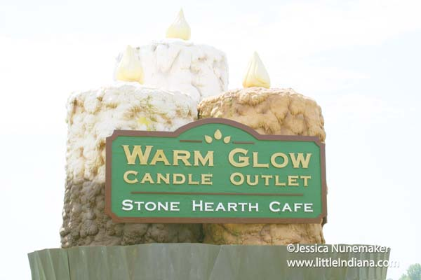 Warm Glow Candle Company Outlet Store in Centerville, Indiana
