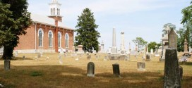 Doddridge Chapel and Cemetery in Centerville, Indiana