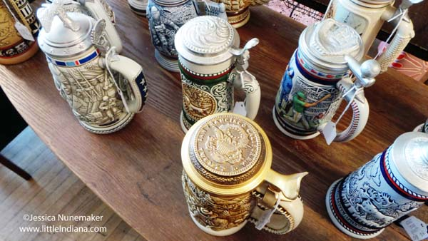 Junk in the Trunk in Danville, Indiana Beer Steins