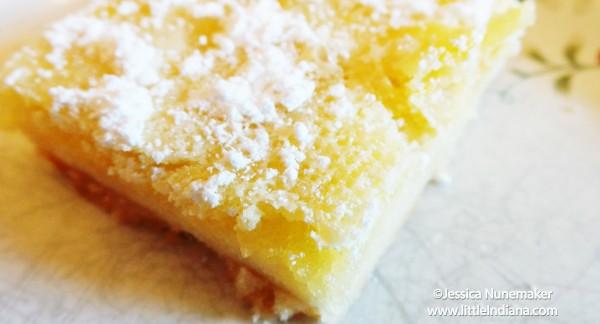 Simple Lemon Bars Recipe