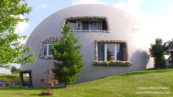Thyme for Bed: Monolithic Dome Bed and Breakfast in Lowell ...