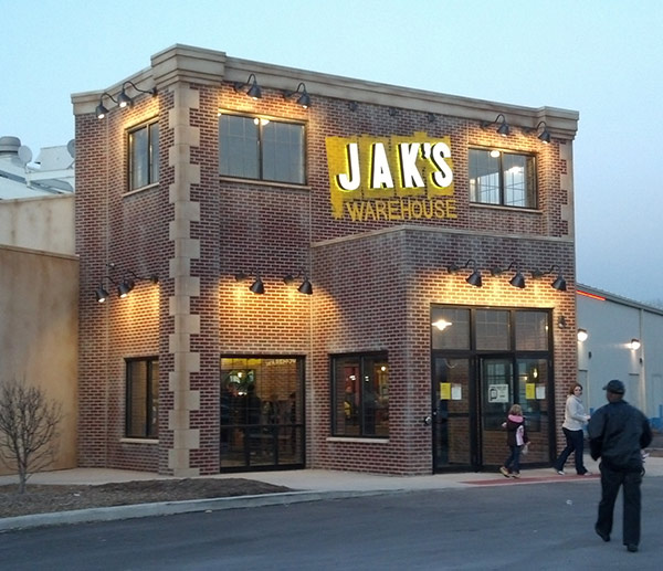 JAKS Warehouse in Schereville, Indiana Exterior