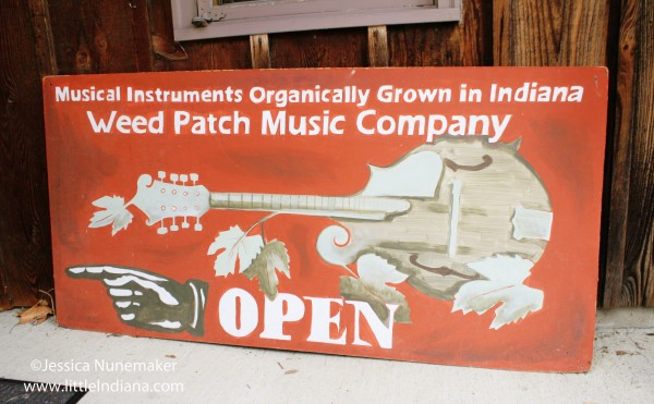 Weed Patch Music Company in Nashville, Indiana