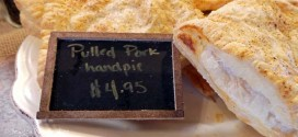 The Beehive in Danville, Indiana Pulled Pork Handpie