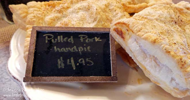The Beehive in Danville, Indiana Pulled Pork Handpie