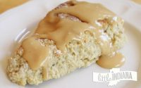 Peanut Butter Banana Scones Recipe