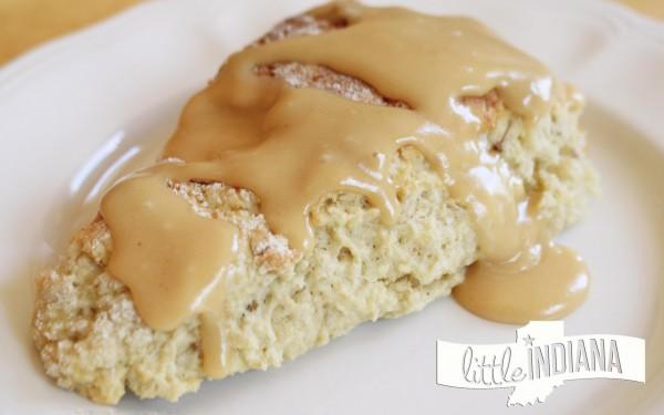 Peanut Butter Banana Scones Recipe