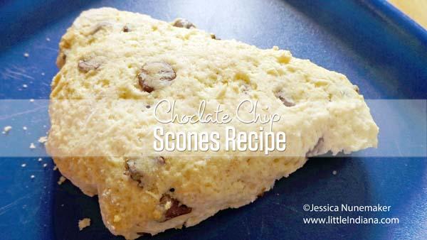 Easy Chocolate Chip Scones Recipe