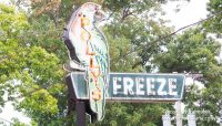 Polly's Freeze in Georgetown, Indiana (also known as Maplewood, Indiana)