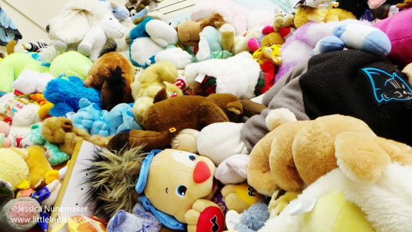 Rescued Treasures in Gas City, Indiana: A Mountain of Stuffed Animals